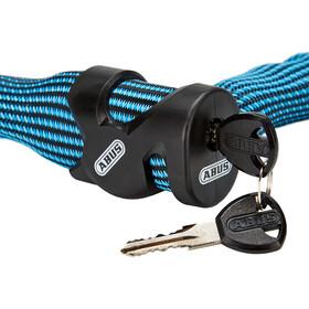 ABUS IvyTex 7210 Kettingslot, blauw/zwart